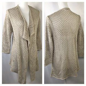 eight eight eight~Open Weave Knit Cardigan~Duster~